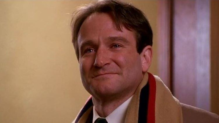 John Keating portrayed by Robin Williams
