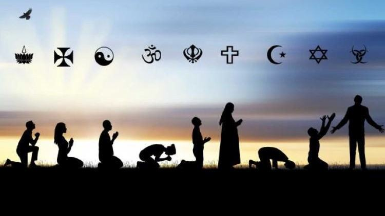 Symbols of religious faith.