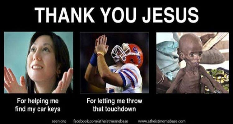 Thank you Jesus meme.