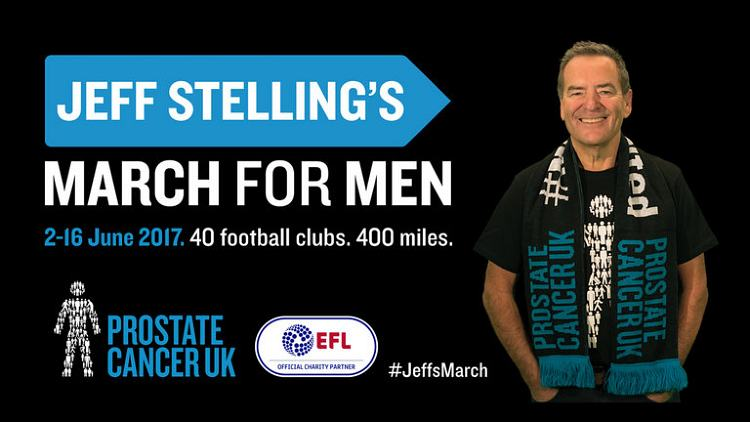 Jeff Stelling's March for Men