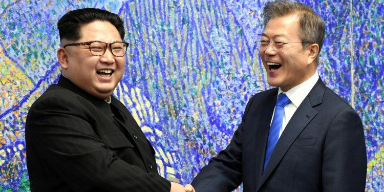 South and North Korea leaders